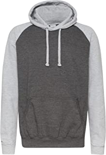 Just Hoods Adults Unisex Two Tone Hooded Baseball Sweatshirt/Hoodie