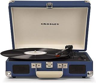 Crosley - Tocadiscos Crosley C8005D Azul - Tocadiscos Portá