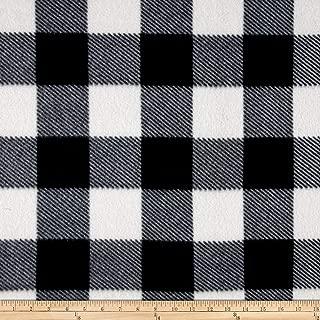 Best plaid fleece fabric Reviews