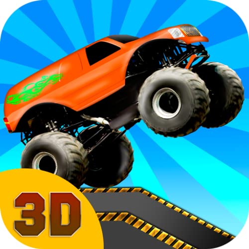 Monster Truck Stunt Race 3D