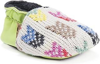 MUK LUKS Kids Baby Soft Shoes-Kiwi Mary Jane Flat