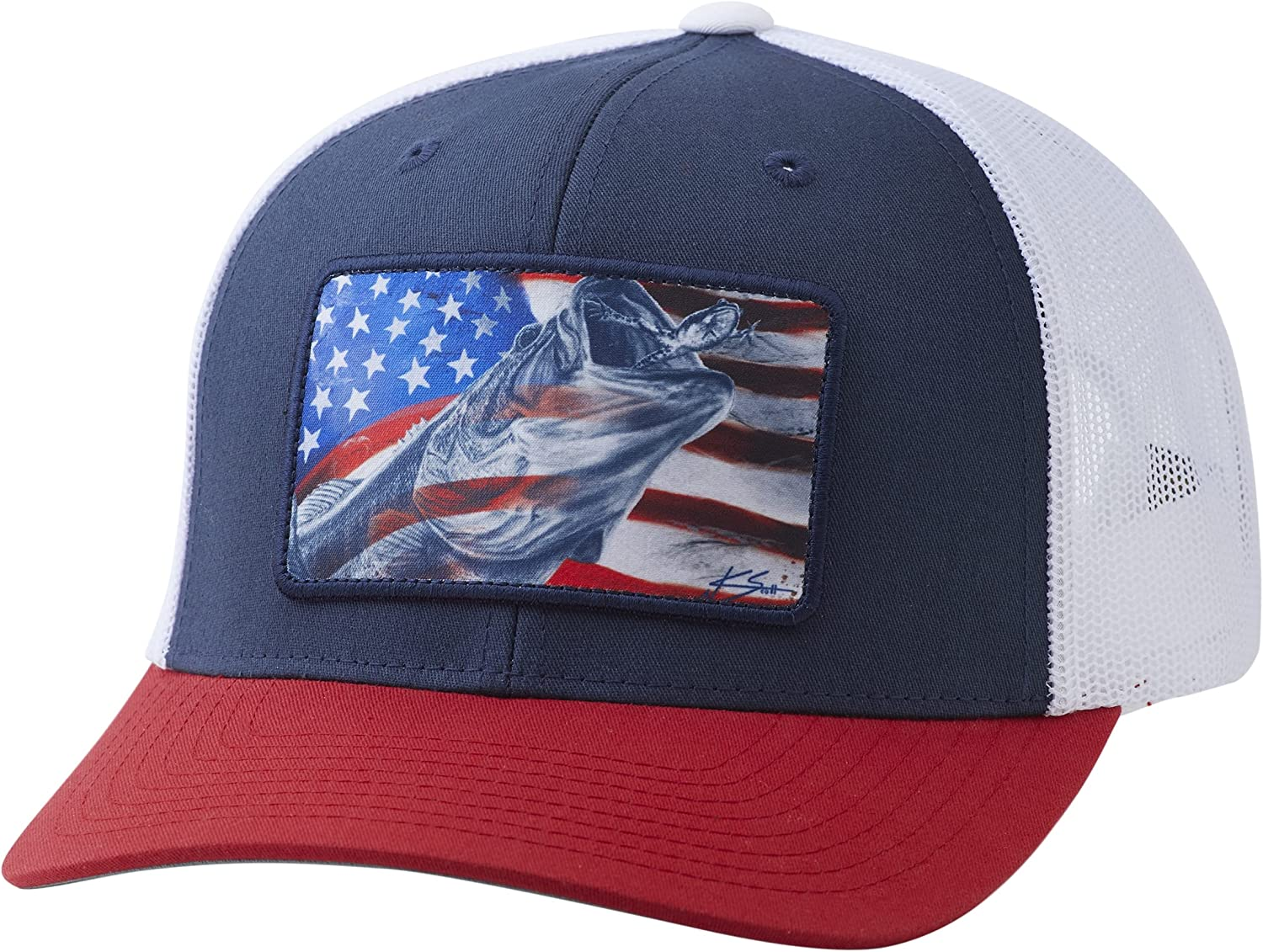 Cheap mail order specialty store HUK Men's Free shipping / New Americana Hat Trucker Frogger