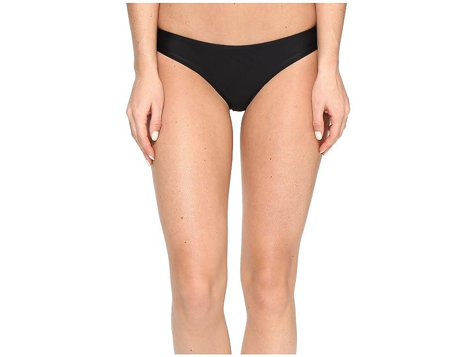 RVCA Solid Cheeky Bottom (Black) Women