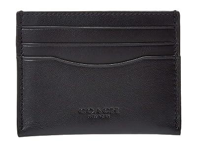 COACH Glovetan Flat Card Case
