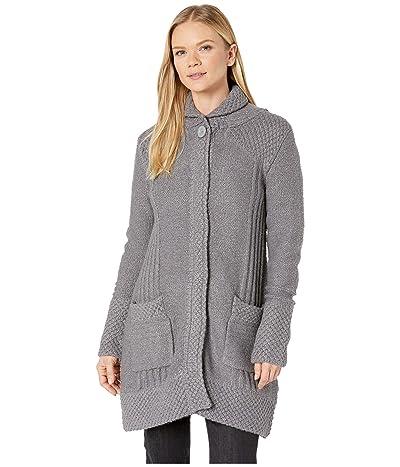 Prana Elsin Sweater Coat (Gravel) Women