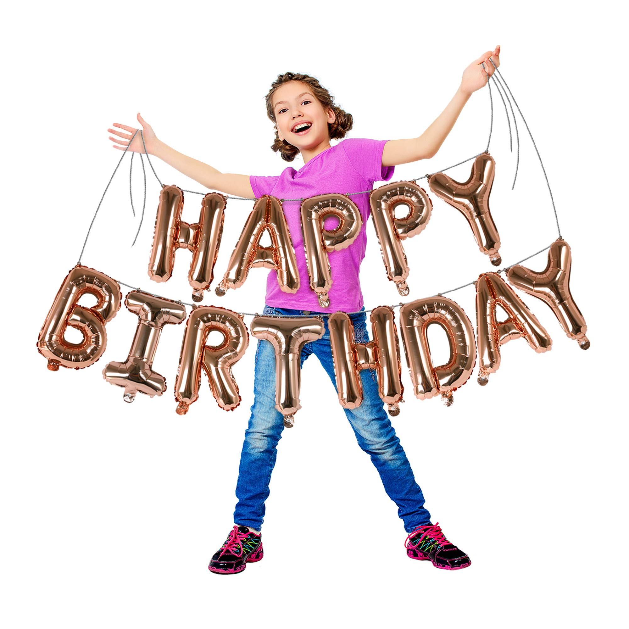 Magenta Mylar Letter Balloon Banner Birthday Bachelorette Color Rose Gold Silver Blue Foil Letters 16 Hot Pink Letter Number Balloons