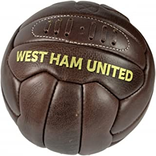 comprar comparacion West Ham FC - Balón de fútbol de piel estilo retro oficial de West Ham FC