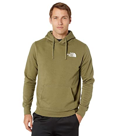 The North Face Red Box Pullover Hoodie (Burnt Olive Green/Burnt Olive Green) Men