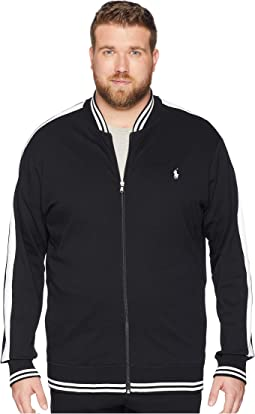 Big & Tall Interlock Track Bomber Jacket