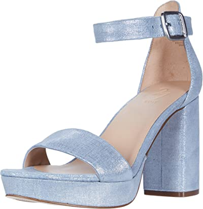 Naturalizer 27 Edit Briar (Blue Metallic Linen Leather) Women