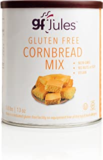 gfJules Gluten Free Cornbread Mix - Voted #1 by GF Consumers 0.8 lbs, Pack of 1