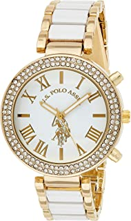 U.S. Polo Assn. Women's Dial Alloy Band Watch - USC40065