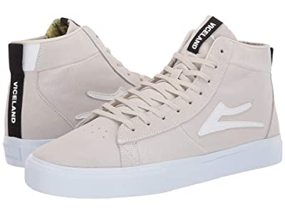 Lakai Newport Hi x Viceland (White Suede) Men