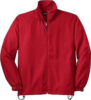 Sport-Tek Full-Zip Wind Jacket. JST70 True Red