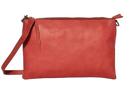 ABLE Martha Crossbody (Brick Red) Handbags