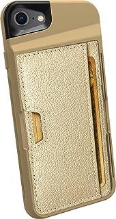 جراب محفظة لهاتف iPhone 7/8/SE (2020) من Smartish - محفظة Slayer Vol. 2 [مسند واقٍ رفيع] حامل بطاقات الائتمان لهاتف Apple ...