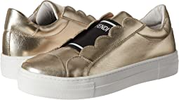 Fendi Kids - Metallic Logo Slip-On Sneakers (Big Kid)