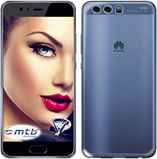 mtb More Energy® Funda Clear & Slim para Huawei P10 (5.1'') - Transparente - Flexible - Delgada - Gel TPU Silicona Carcasa Suave Cascara