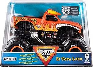 Monster Jam Official El Toro Loco Monster Truck Die-Cast Vehicle, 1:24 Scale