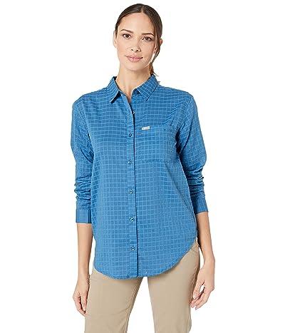 Columbia PFG Sun Driftertm II Long Sleeve Shirt (Impulse Blue Windowpane) Women