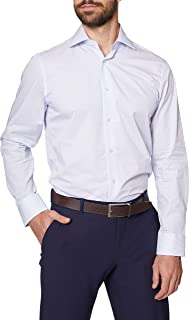 Sponsored Ad - Hickey Freeman Men's Contemporary Fitted Long Sleeve Dress Shirt