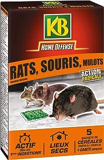 KB Cereales Appts Anti Rats Souris et Mulots 125 gr