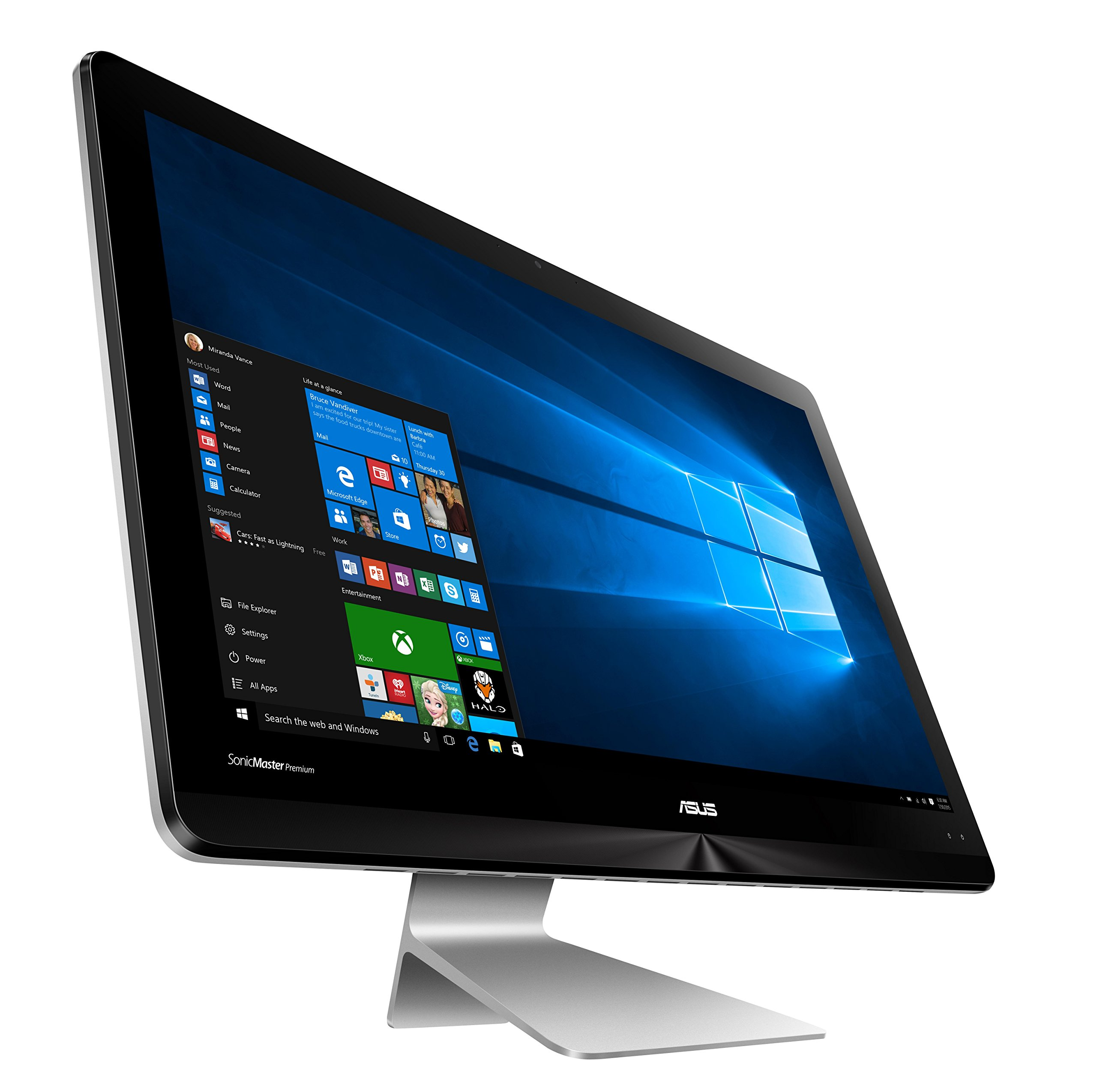 Asus Zen All in One zn220icgt de rg016 X 54,6 cm (21,5 Pulgadas) All-in-One Desktop PC (Intel Core i5 – 6200u, Memoria de 8 GB, 1TB + 128GB SSD, nVidia gtx930mx, Win
