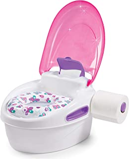 Summer Infant Step by Step Potty Training Seat and Step Stool, Pink