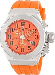Men's 10542-06-ORG Trimix Diver Chronograph Orange Dial Orange Silicone Watch
