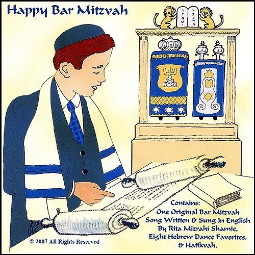 Happy Bar Mitzvah One Original Song Written Sung In English