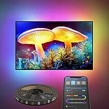LED Strip Licht 2M Dreamcolour, Govee APP Gecontroleerde USB Aangedreven RGB LED Verlichting Kit, Muziek Synchroniseren Kl...