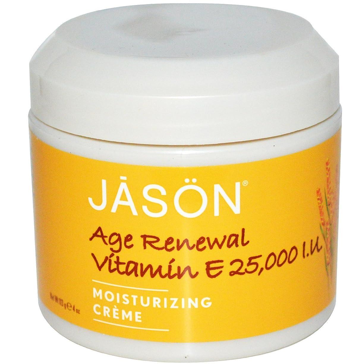 全国鋭くバランスジェイソンナチュラル(Jason Natural) エイジリニューアル ビタミンE クリーム  25,000 IU 113g [海外直送][並行輸入品]