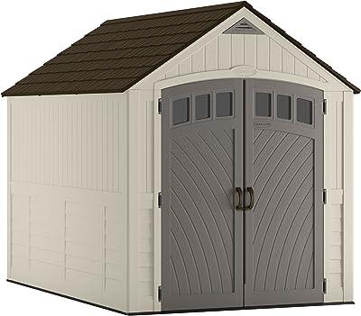 Amazon com: Suncast 8' x 10' Tremont Storage Shed - Outdoor