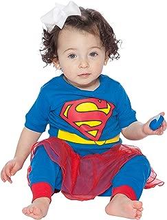 Supergirl Tutu Costume Pajama Set