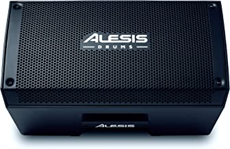 Alesis Strike Amp 8 | 2000-Watt Portable Speaker/Amplifier for Electronic Drum Kits With 8-Inch Woofer, Contour EQ and Ground Lift Switch, 8 inch