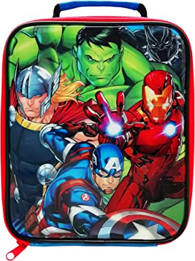Marvel Avengers Lunch Bag, Polyester, Multi Coloured, one Size