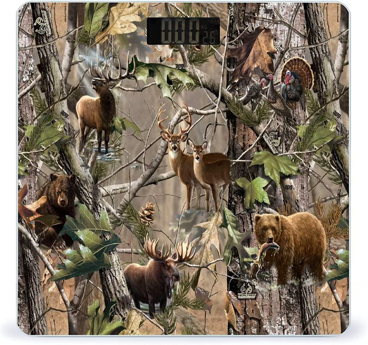 CHUFZSD Cheap mail order specialty store Tree Camouflage 2021 Deer Highly Accurate Scale Fitness Smart