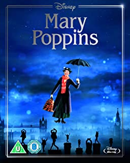 Mary Poppins Artwork Sleeve  Region Free