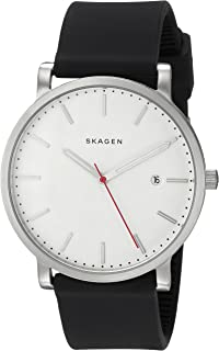 Skagen Men's SKW6340 Hagen Black Silicone Watch