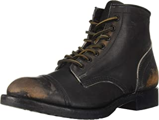 ae28e856a8ad Amazon.com   200   Above - Motorcycle   Combat   Boots  Clothing ...