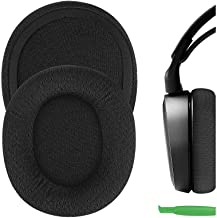Geekria QuickFit Mesh Fabric Replacement Ear Pads for SteelSeries Arctis 3 Arctis 5 Arctis 7 Arctis 9X Arctis PRO Headphon...