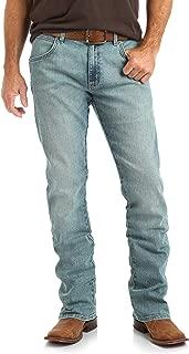 Men's Retro Slim Fit Boot Cut Jean