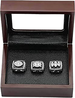 HASTTHOU Oakland Raiders Super Bowl Championship Replica Ring by Display Box Set