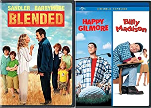 Destroy Golf Go To School Fall in Love Adam Sandler Billy Madison Happy Gilmore DVD + Blended Comedy Triple Feature Bundle Movie Collection Set