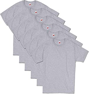 Hanes Men's ComfortSoft Short Sleeve T-Shirt (6 Pack)