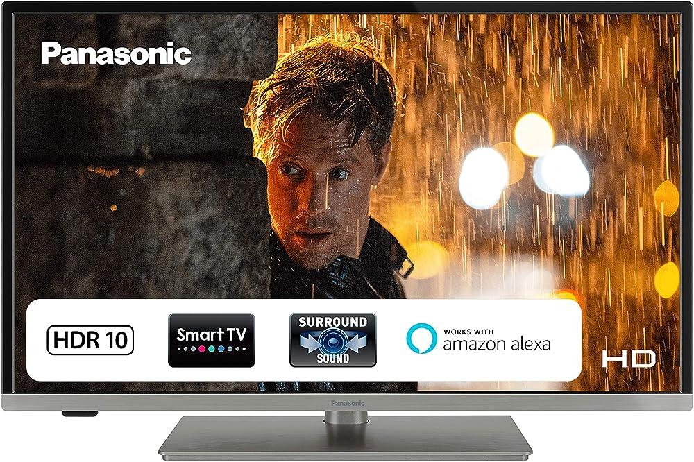 Panasonic smart tv led hd 24 pollici wi-fi integrato hdr triple tuner compatibilità netflix video 24JS350