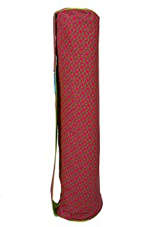 Yoga Mat Carrier Bag with Large Compartment & Broad Carrying Strap – Fits Most Size Mats & Ideal for All Your Yoga Gear – ...