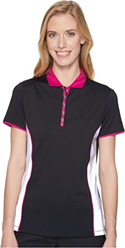 Callaway - Color-Blocked Short Sleeve Polo