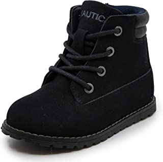 Nautica Kids Boys Chukka Boot Lace-Up and Zipper Bootie (Toddler/Little Kids)