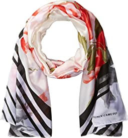 English Rose Oblong Scarf